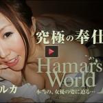 一ノ瀬ルカ Hamar's World 15~究極の奉仕女優~